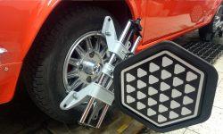 Škoda 110R 3D geometria