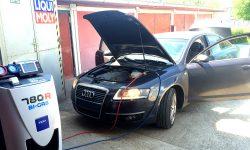 Audi A6 servis klimatizácie R134a