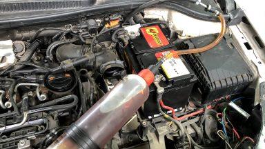 VW Golf VI výmena oleja v 7 stupňovej automatickej prevodovke DSG 0AM (DQ200)