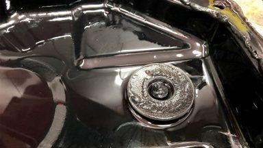 Chrysler 300C výmena oleja v automatickej prevodovke 42RLE s preplachom