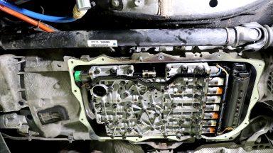 BMW X3 F25 výmena oleja v automatickej prevodovke ZF 8HP s preplachom