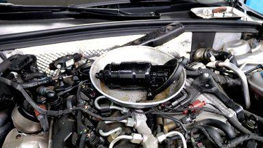 Audi A4 výmena oleja v automatickej prevodovke Multitronic s preplachom