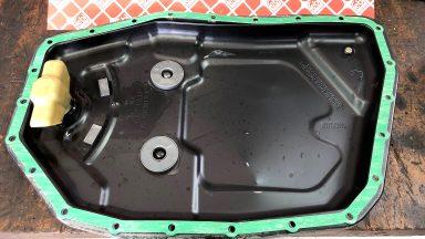 Audi A6 výmena oleja v automatickej prevodovke ZF 09L s preplachom